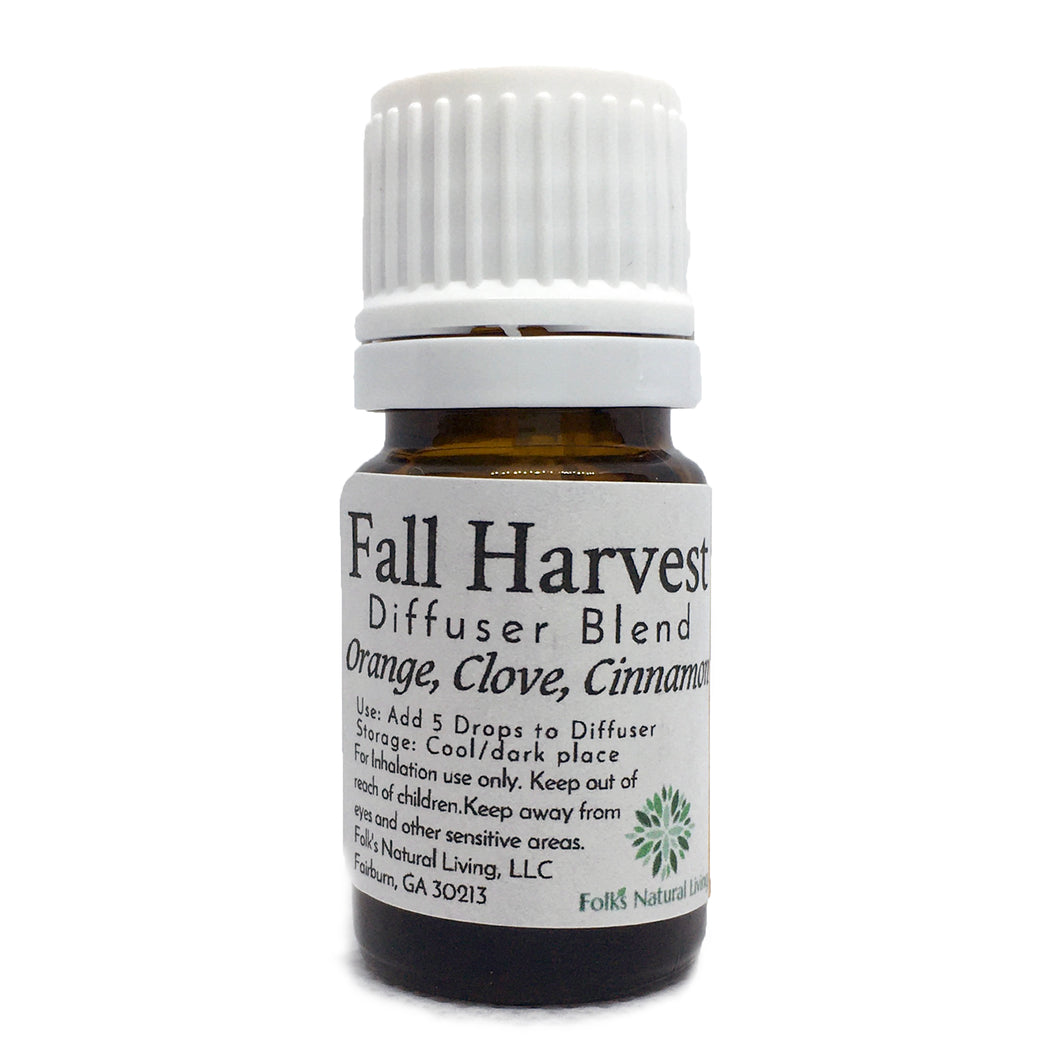 Fall Harvest Essential Oil Diffuser Blend