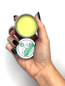 Using Cuticle Cure on hands, nails