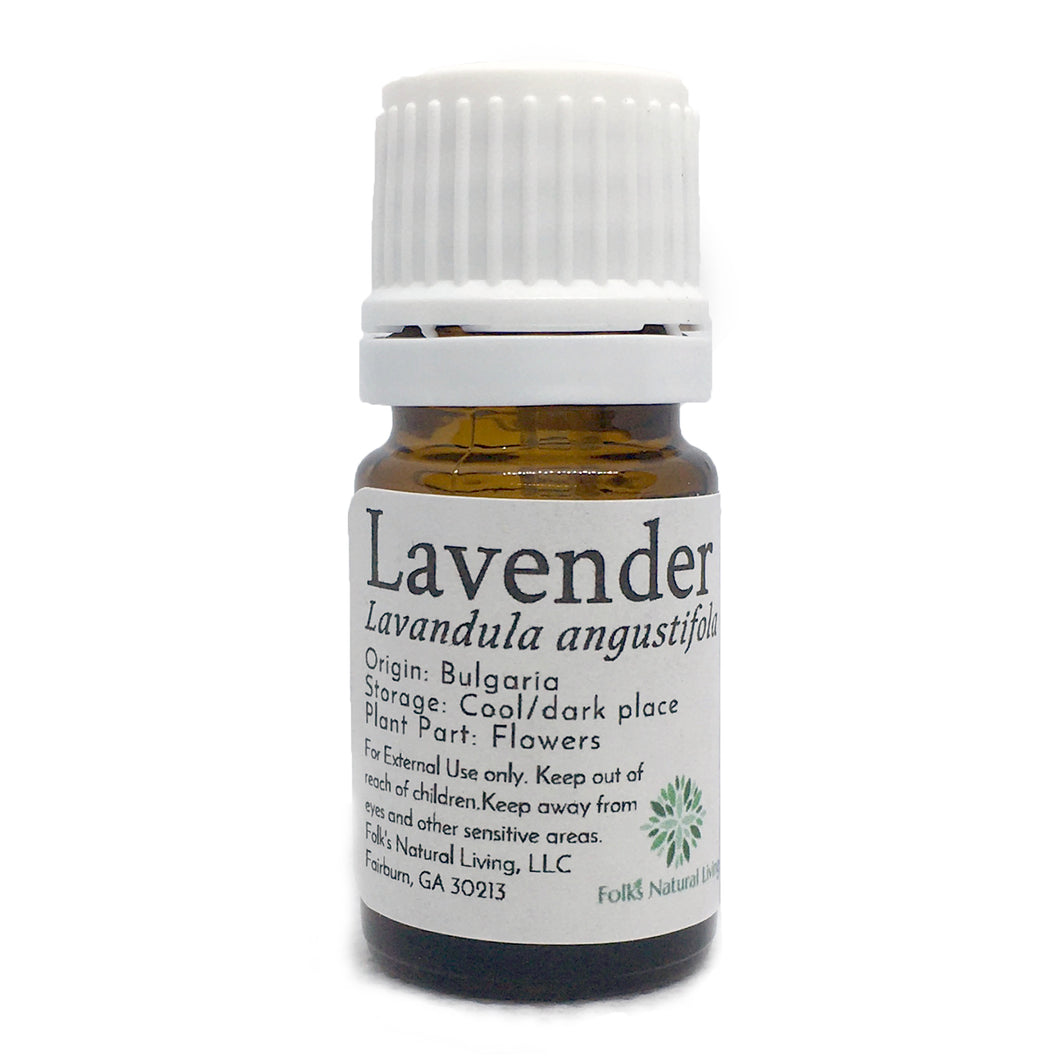 Lavender Essential Oil in 5mL Bottle
