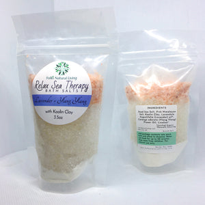 Relax Sea Therapy Bath Salts - Lavender & Ylang Ylang