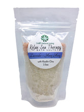 Load image into Gallery viewer, Relax Sea Therapy Bath Salts - Lavender & Ylang Ylang