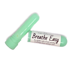 Breathe Easy Aromatherapy Inhaler Close Up