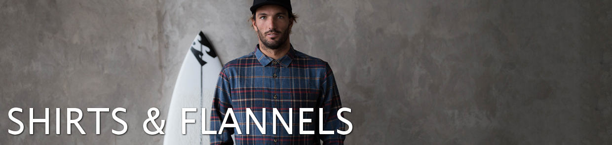 Men's Shirts - Flannels
