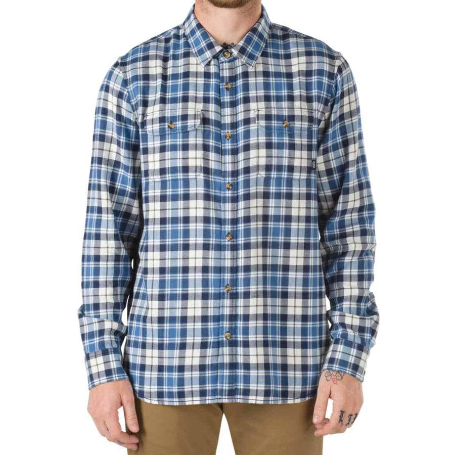 Vans Mens Sycamore Flannel MARSHMELLOW-DELFT