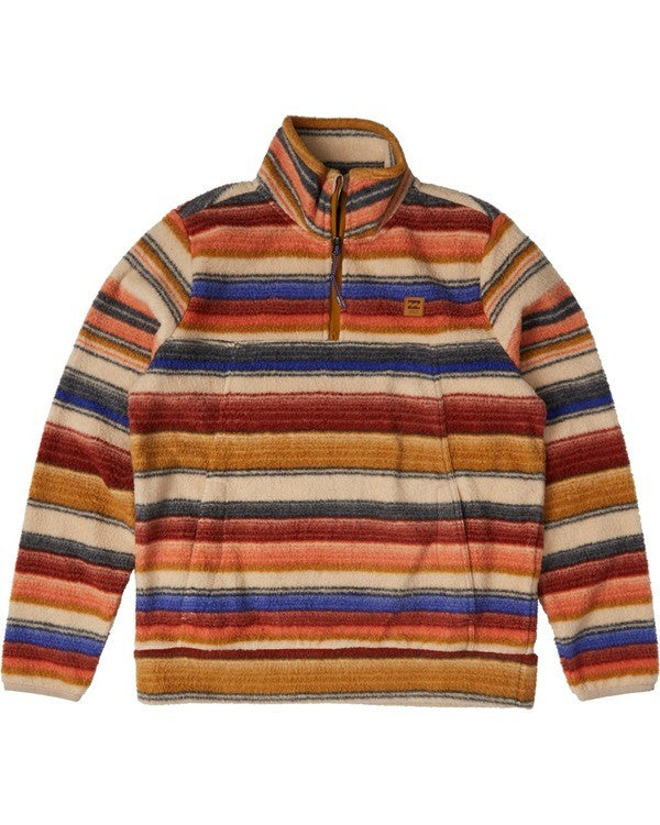 Boundary Mock Half Zip Jacket