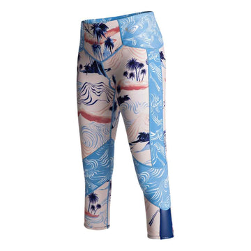 Roxy 1MM Pop Capri PALE-DOGWOOD