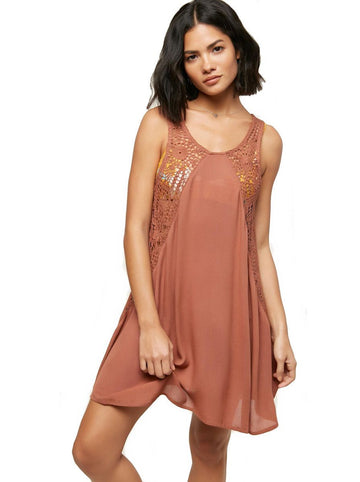 O'Neill Salt Water Solids Tank Dress Cover Up