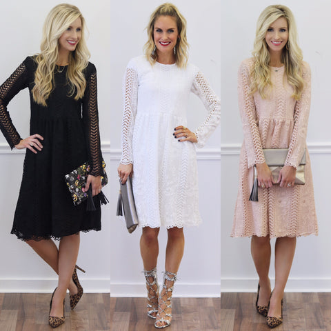 Valentines Day Lace Dresses | Piper Street