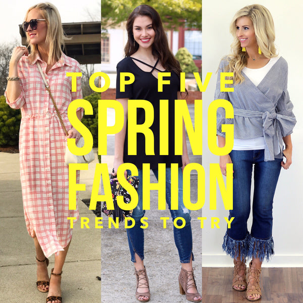 Top Five Spring Fashion Trends to Try Blog | Piper Street
