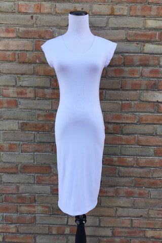 Dress - White Layering Slip
