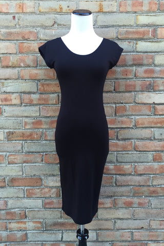 Dress - Black Layering Slip