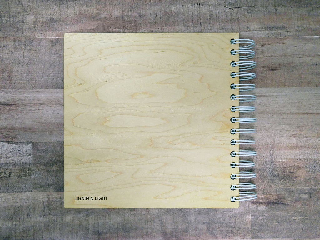 Wood-Cover Lake House Guestbook