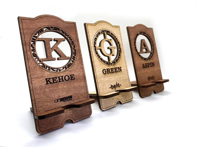 Personalized Cell Phone Stand