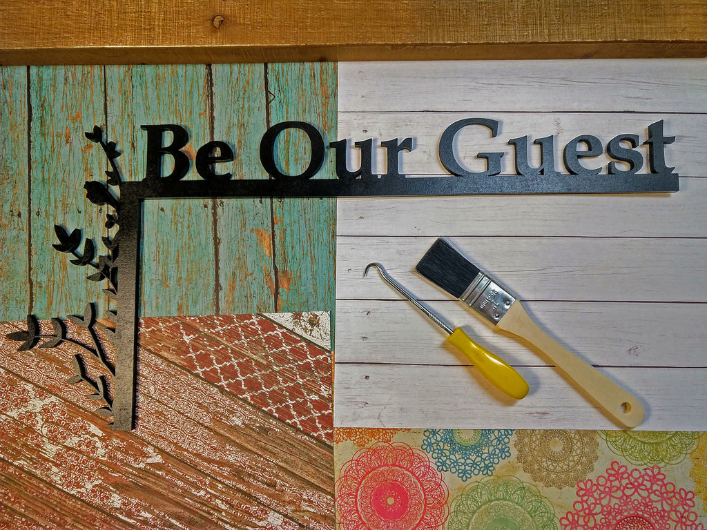 "Guest Room ""Over the Door"" Door Topper Sign"