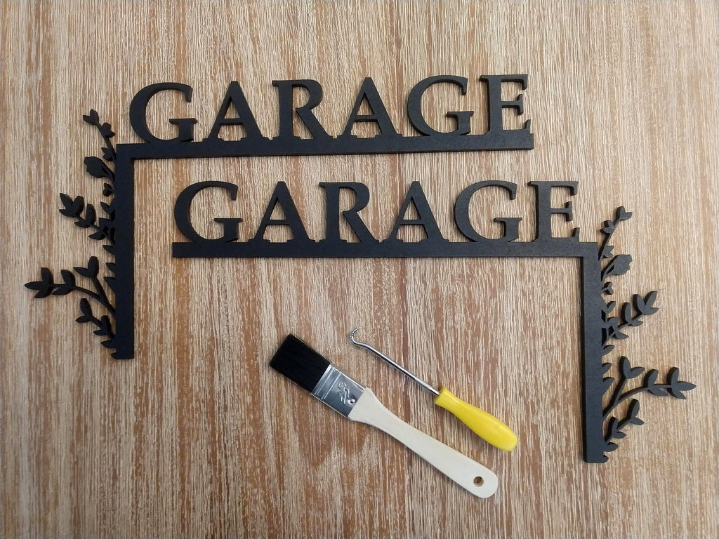 "Garage ""Over the Door"" Door Topper SIgn"