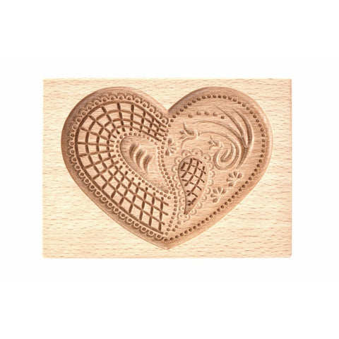 Gingerbread Mold - Cookie Cutter (Heart 3) - Cookie Cutters-RzezbawDrewnie.pl-Viktor-Art