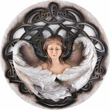 Angel - Harmony - Celtic background-Sacred sculpture-RzezbawDrewnie.pl-Viktor-Art