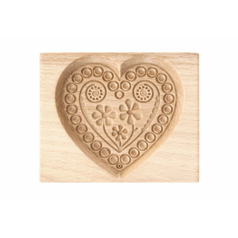 Gingerbread Mold - Cookie Cutter (Heart 2) - Cookie Cutters-RzezbawDrewnie.pl-Viktor-Art