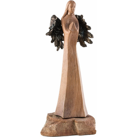 Angel - Exclusive Series - Patron of the Faithful - (Model 2 of 3) - Sacred sculpture-RzezbawDrewnie.pl-Viktor-Art