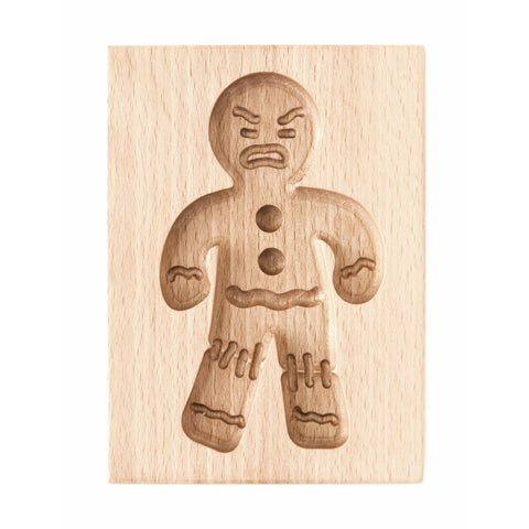 Gingerbread Mold - Cookie Cutter (Gingy - Cookies - Mad!) - Cookie Cutters-RzezbawDrewnie.pl-Viktor-Art