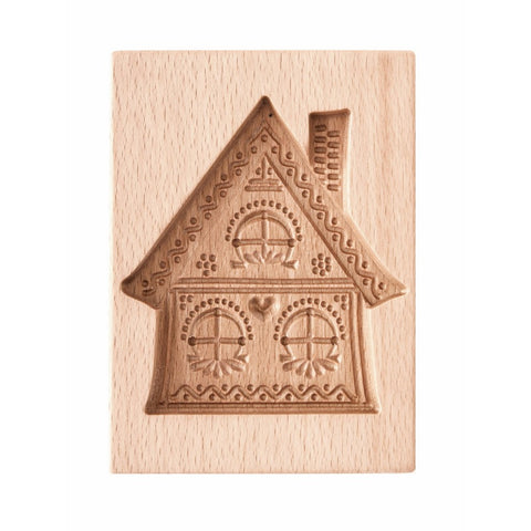 Gingerbread mold - Cookie mold (Gingerbread House) - Cookie molds-RzezbawDrewnie.pl-Viktor-Art