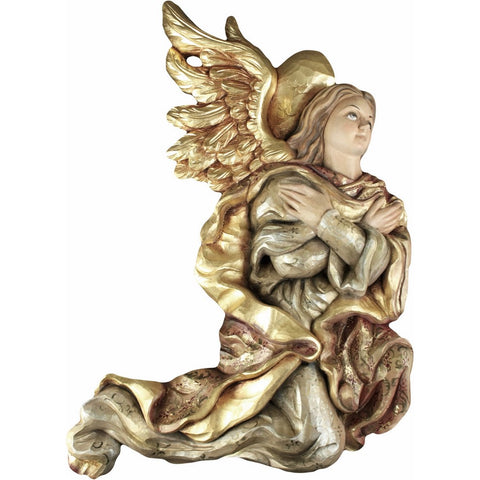 Angel - Paying Homage (Model 2) - Sacred Sculpture - RzezbawDrewnie.pl - Viktor-Art