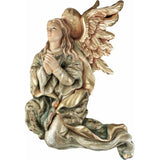 Angel - Paying tribute (Model 1) - Sacred sculpture - RzezbawDrewnie.pl - Viktor-Art