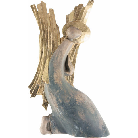 Angel - Modest (model 1) - Sacred sculpture - RzezbawDrewnie.pl - Viktor-Art