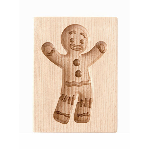 Gingerbread Mold - Cookie Cutter (Gingy - Cookies - Party!) - Cookie Cutters-RzezbawDrewnie.pl-Viktor-Art