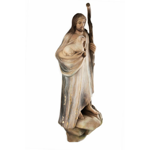 Good Shepherd (model 2) - Sacred sculpture - RzezbawDrewnie.pl - Viktor-Art