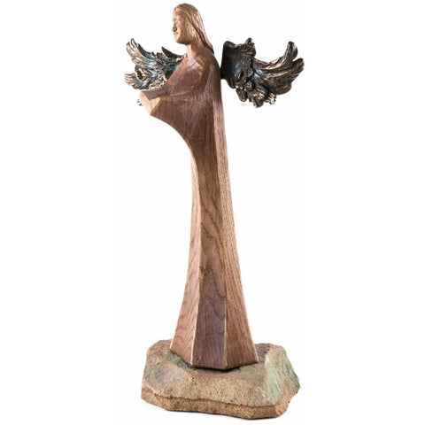 Angel - Exclusive Series - Library patron - (Model 1 of 3) - Sacred sculpture-RzezbawDrewnie.pl-Viktor-Art