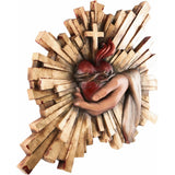 Sacrifice of the Heart - Blessing-Sacred Sculpture-RzezbawDrewnie.pl-Viktor-Art