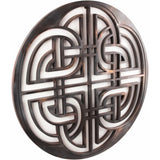 Wall Decoration (Celtic pattern 1) - Decorative sculpture - RzezbawDrewnie.pl - Viktor-Art