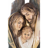 Holy Family - Heart and Home - Heart (model 13) -Sacral sculpture-RzezbawDrewnie.pl-Viktor-Art