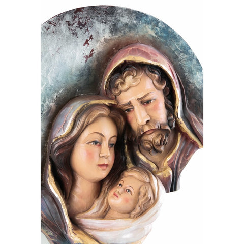 Holy Family - Heart and Home - Moon (model 8) - Sacred sculpture - RzezbawDrewnie.pl - Viktor-Art