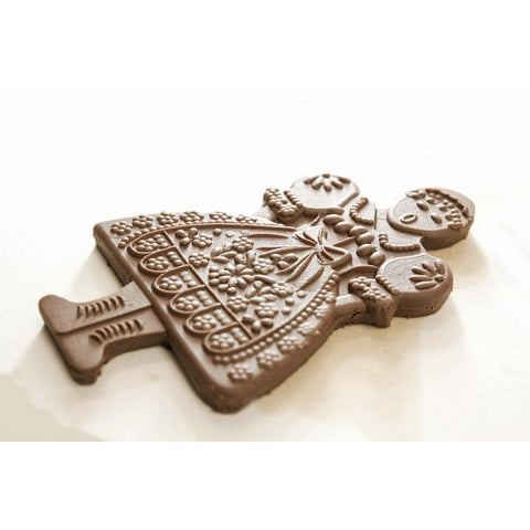 Gingerbread mold - Mold for cookies (Pani Domu) - Cookie molds-RzezbawDrewnie.pl-Viktor-Art