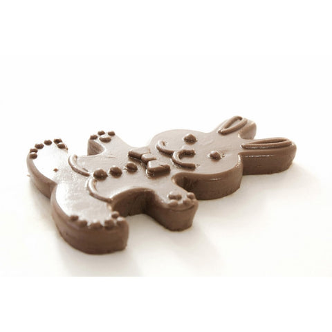 Gingerbread Mold - Cookie Cutter (Easter Rabbit)-Cookie Cutters-RzezbawDrewnie.pl-Viktor-Art