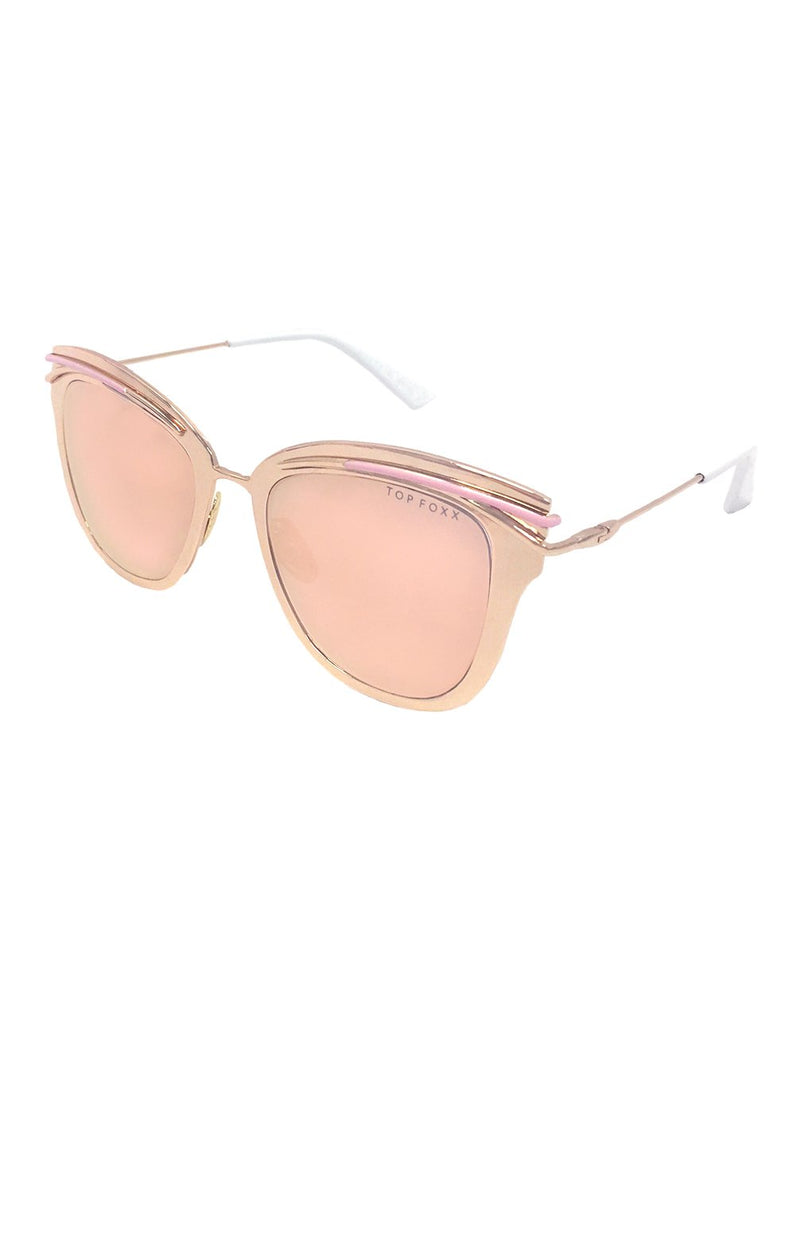 Candy Sunglasses Rose Gold