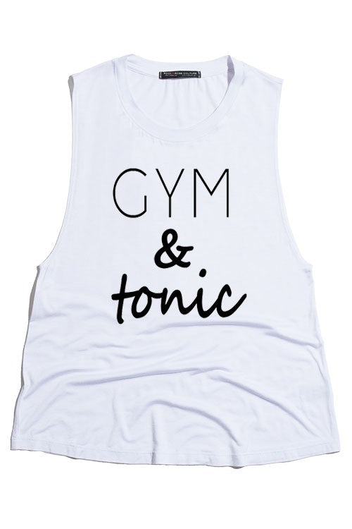 Gym & Tonic Graphic Tank