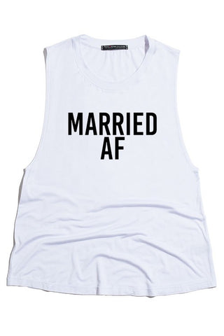 Married AF Graphic Tank