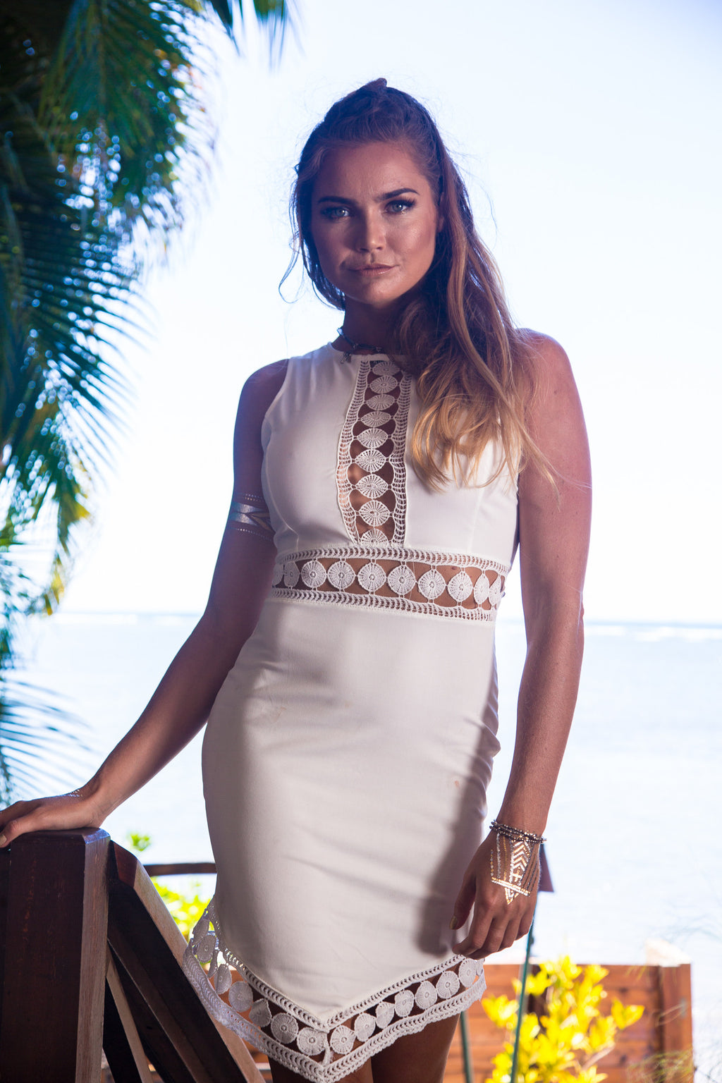 Oh My Goddess Crochet Dress