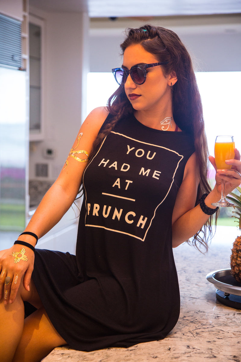 Brunch or Bust Tunic