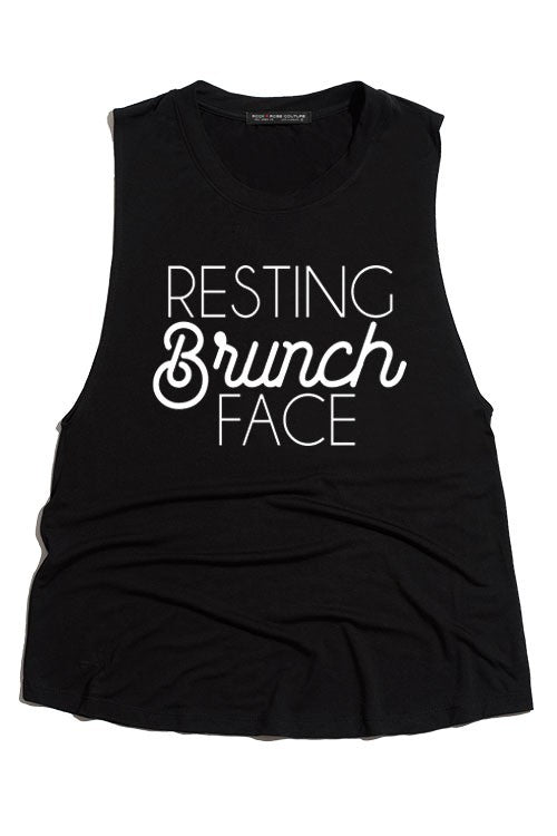 Resting Brunch Face Graphic Tank