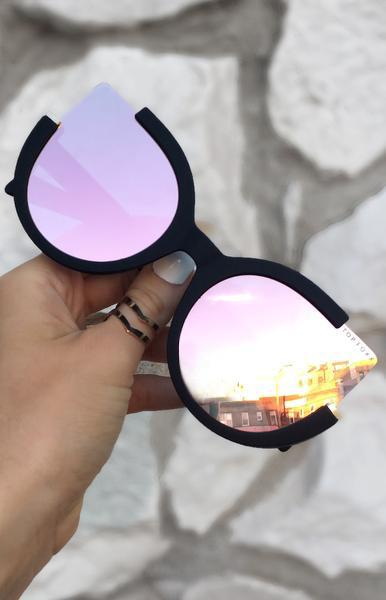 Chloe Sunglasses Rose Gold