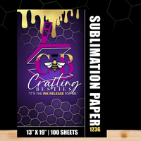 Sublimation Paper| Crafting Besties ®| 13x19