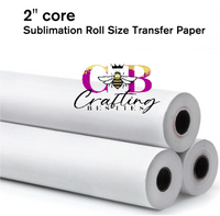CRAFTING BESTIES  TACKY SUBLIMATION PAPER ROLL