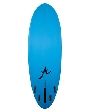 Aloha Fun Division Small FCSII Blue PU Surfboard