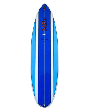 McCoy Nugget Blue Polish FCSII Epoxy Surfboard