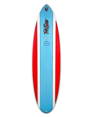 McCoy Nugget Blue/Red Polish FCSII Epoxy Surfboard