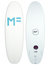 MF Softboards Beastie White Futures